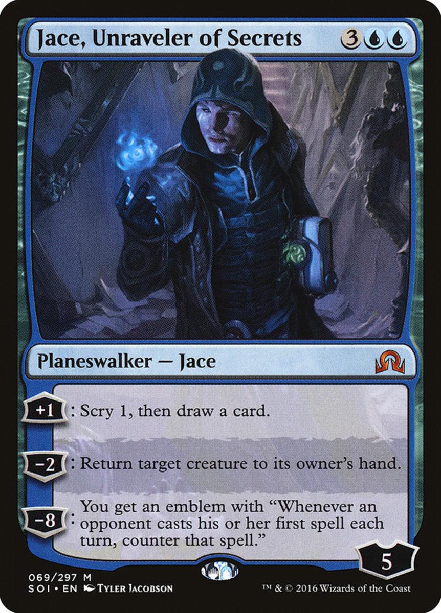Jace, Unraveler of Secrets mtg