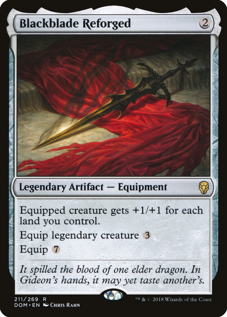 Blackblade Reforged mtg