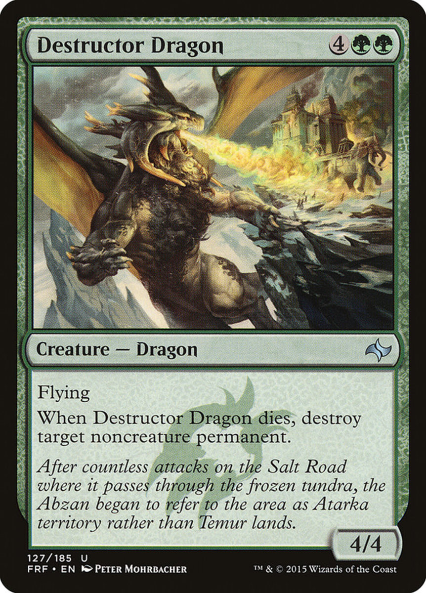 Destructor Dragon mtg