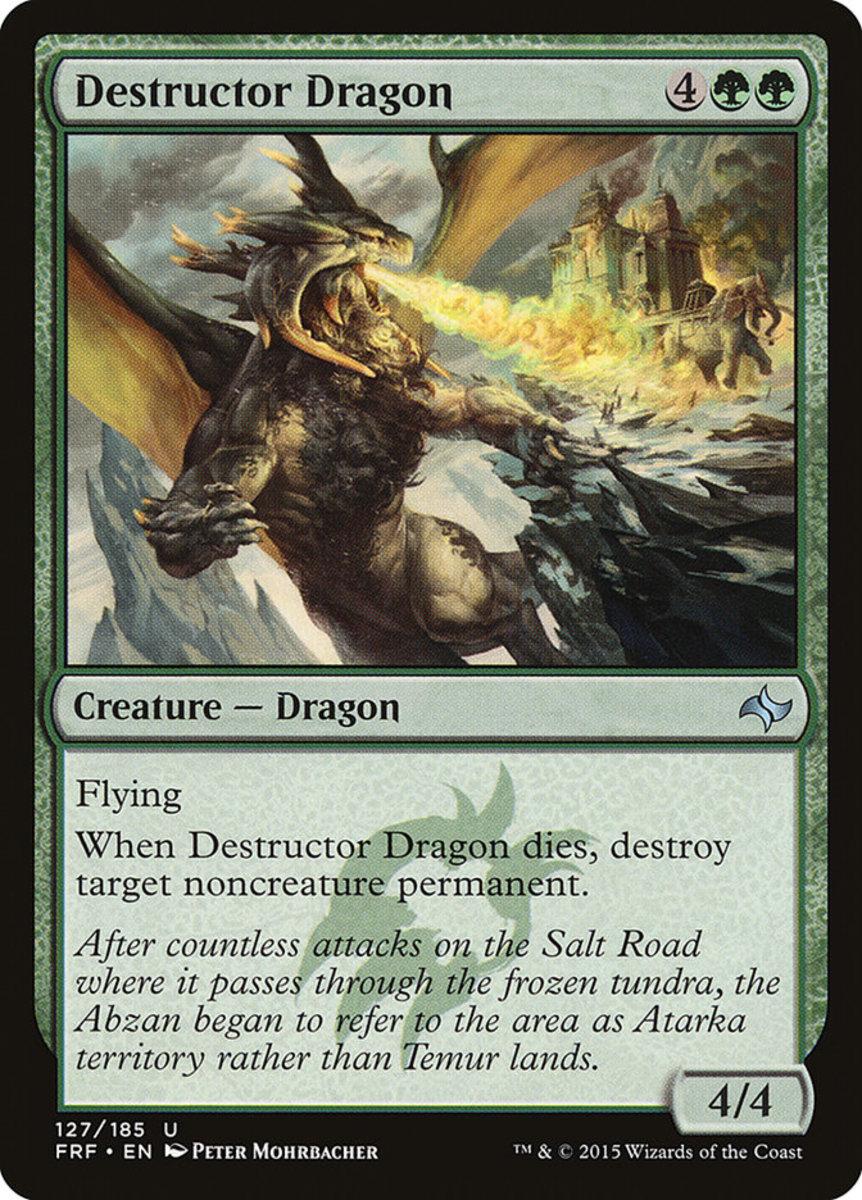 Destructor Dragon mtg