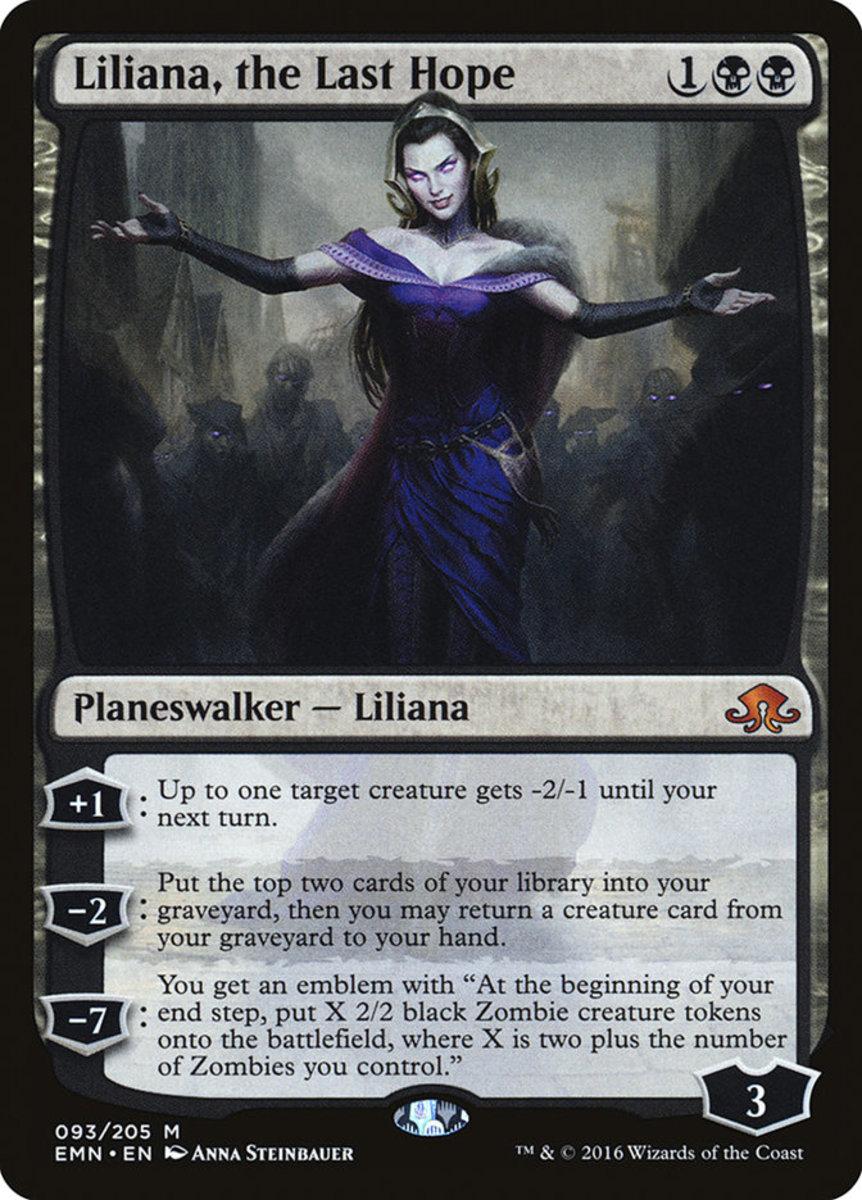 Liliana, the Last Hope mtg