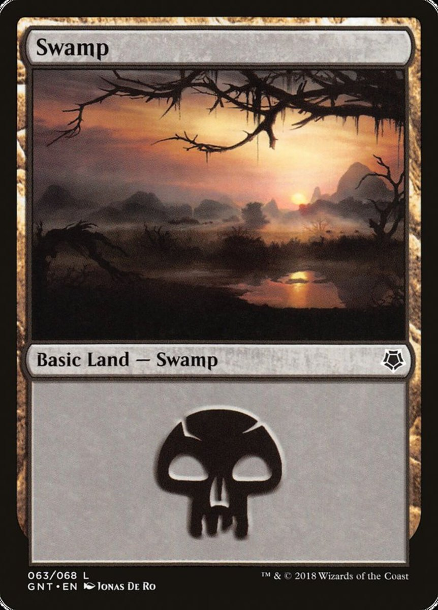 Swamp mtg