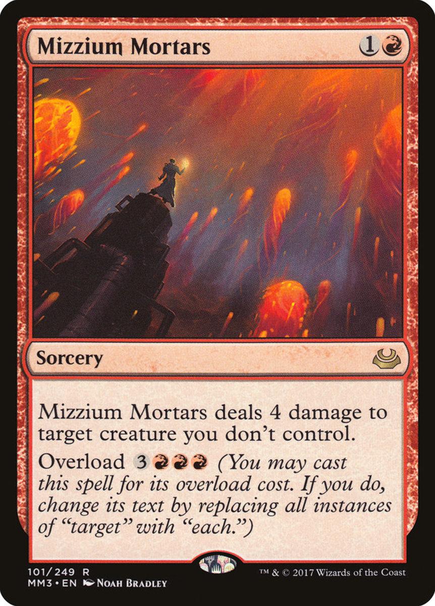 Mizzium Mortars mtg