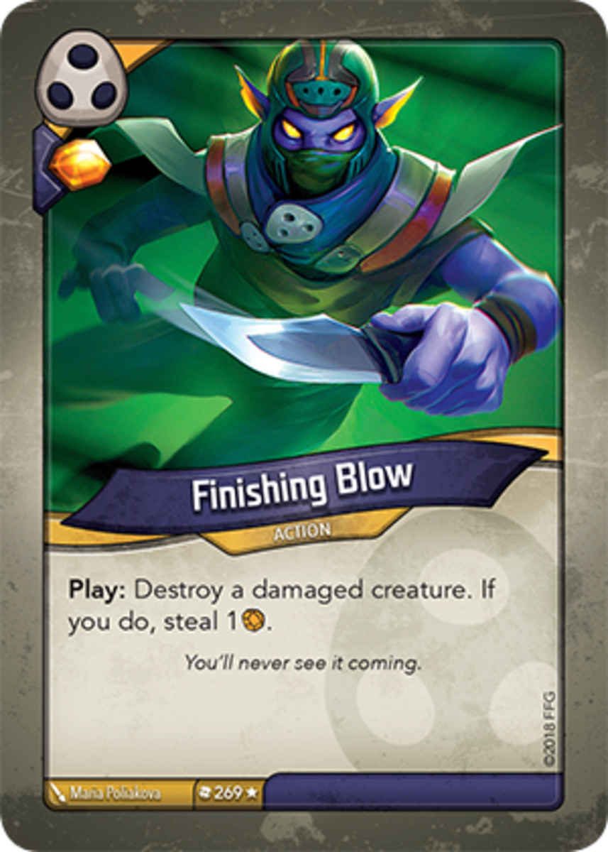 Finishing Blow Keyforge