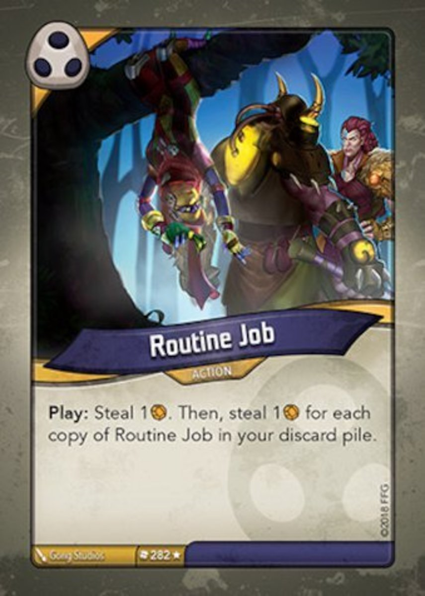 Routine Job Keyforge