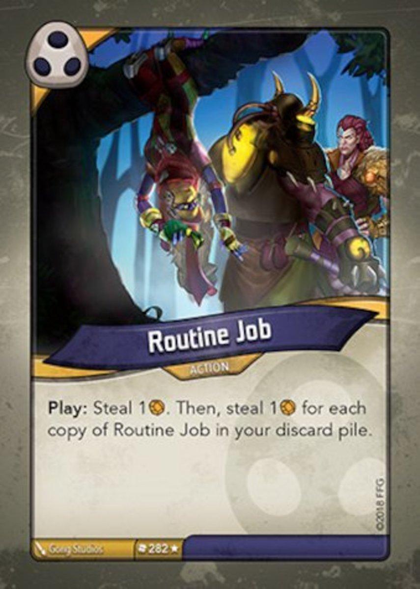 Routine Job Keyforge