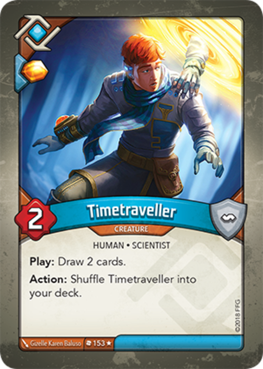 Timetraveller Keyforge