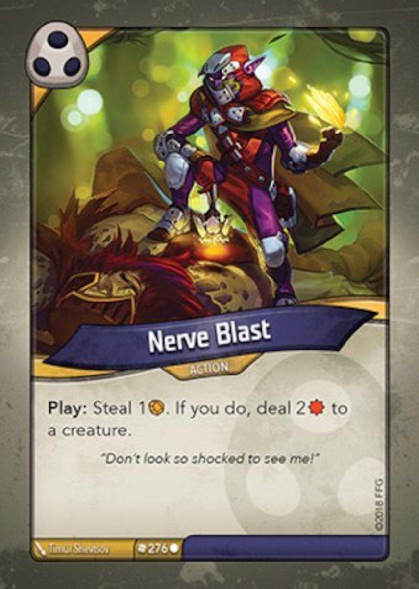 Nerve Blast Keyforge