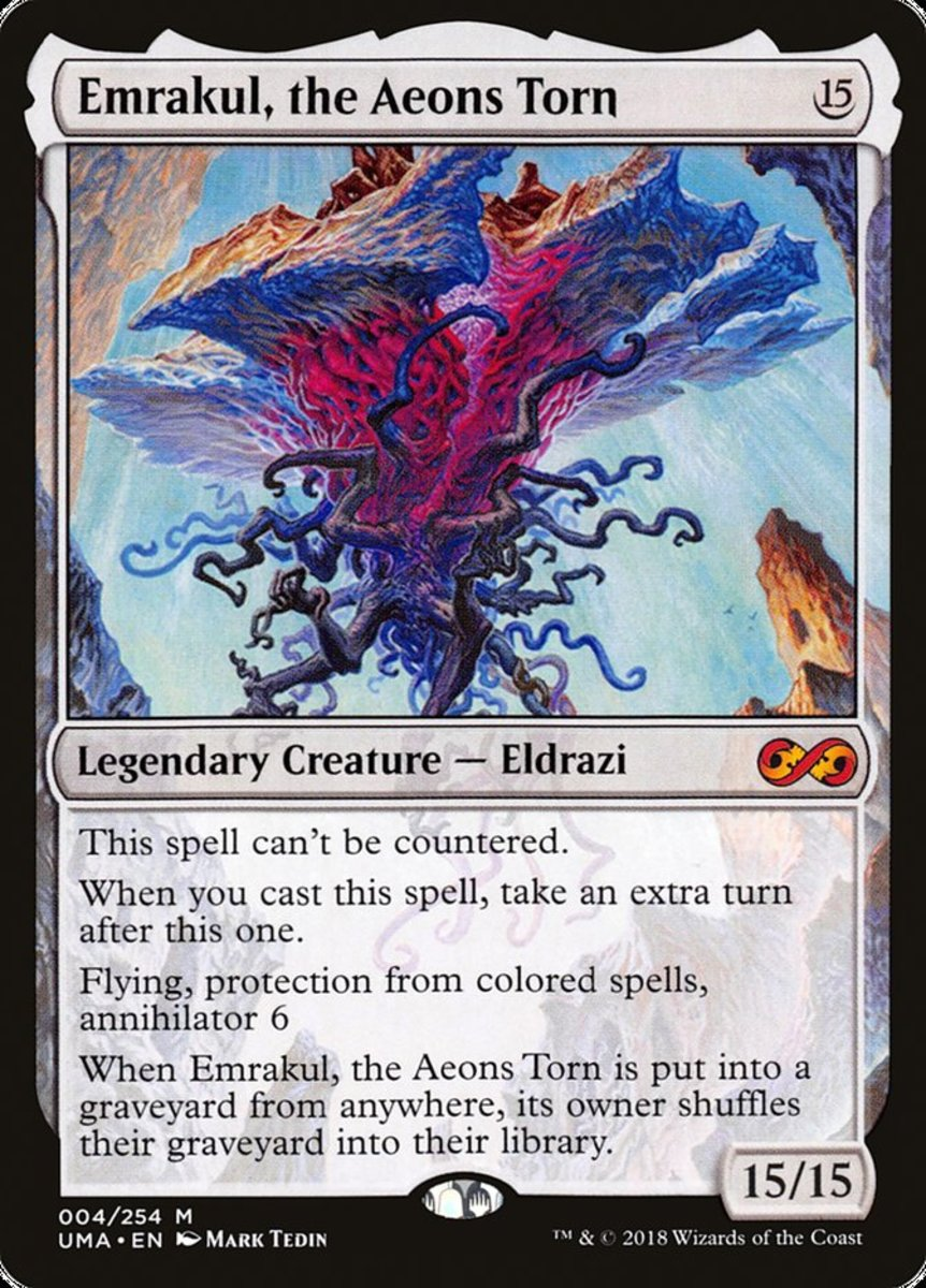 Emrakul, the Aeons Torn mtg