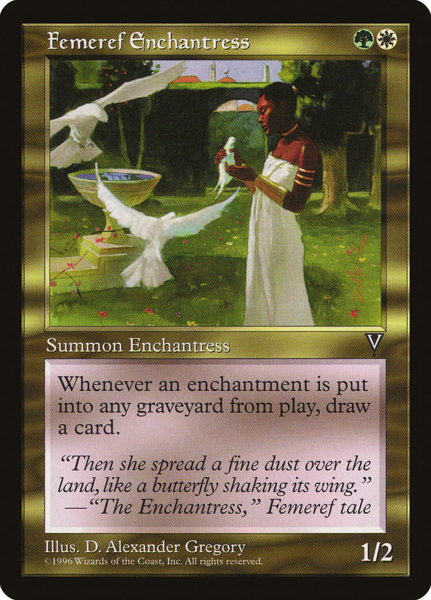 Femeref Enchantress mtg