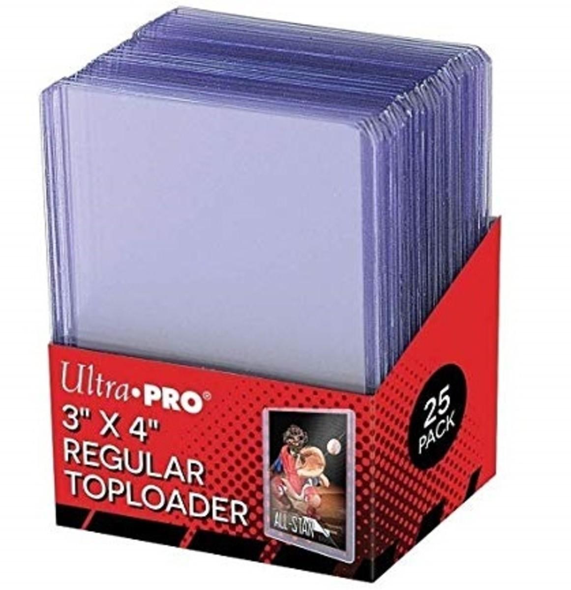 Top-loader card sleeves