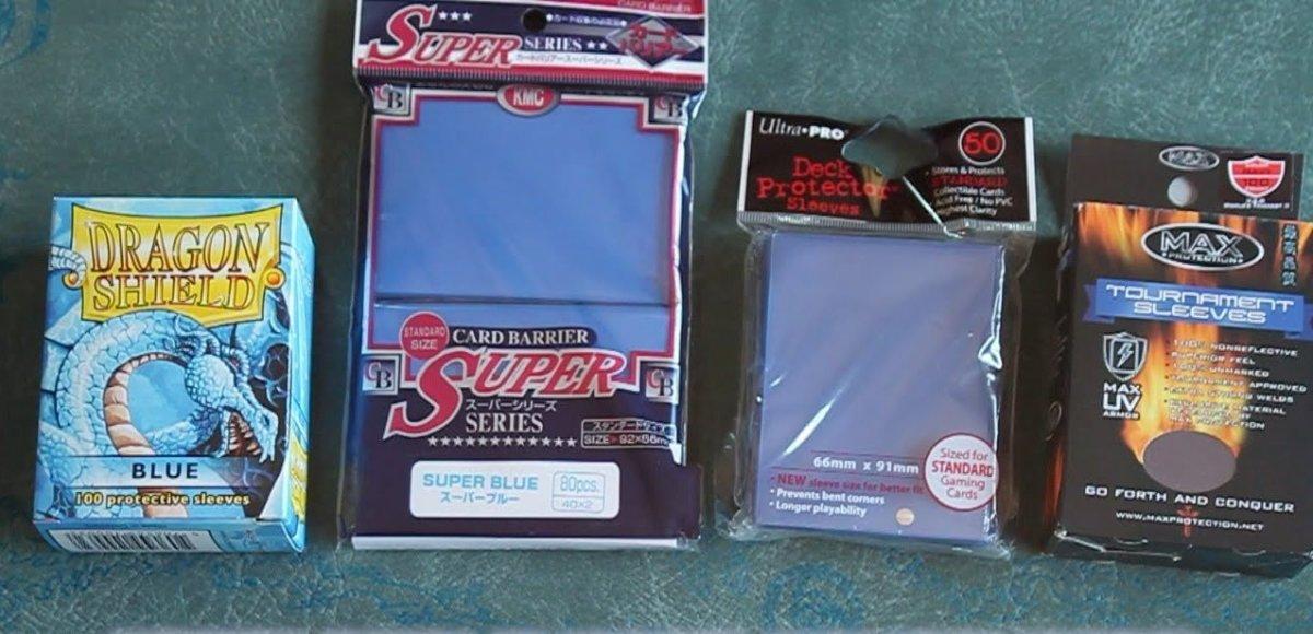 Various card sleeves