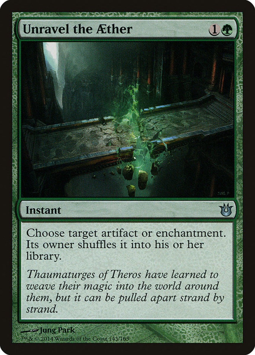 Unravel the Aether mtg
