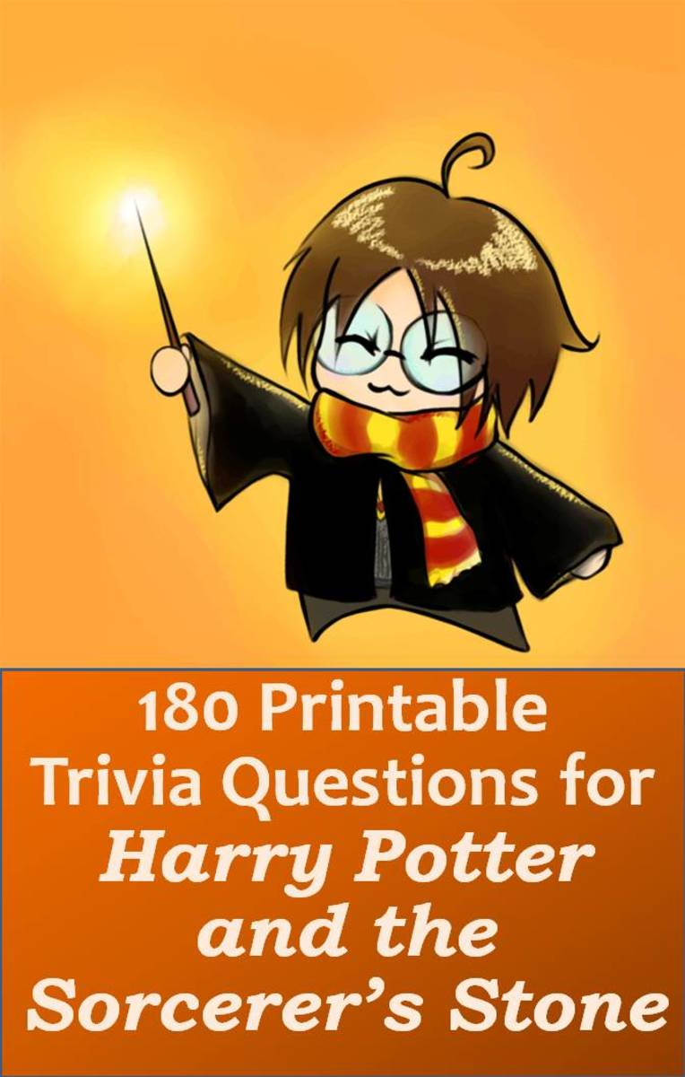 image about Printable Trivia Questions referred to as 180 Printable Trivia Inquiries for Harry Potter and the