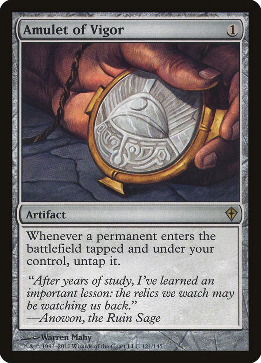 Amulet of Vigor mtg