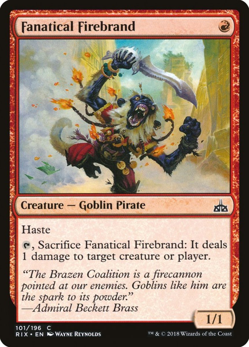 Top 10 Red Aggro Cards in Standard Format of Magic: The Gathering