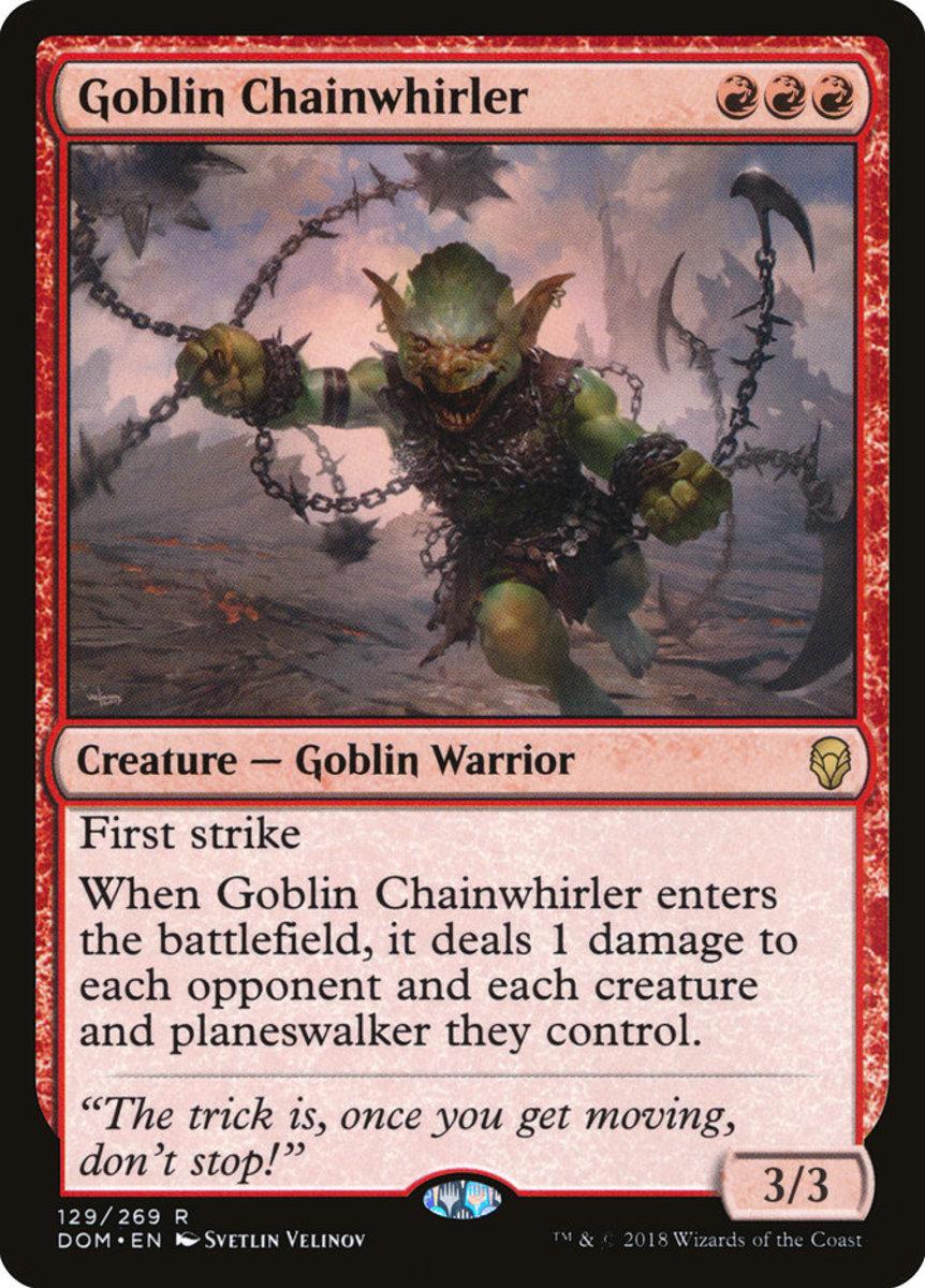 Goblin Chainwhirler mtg