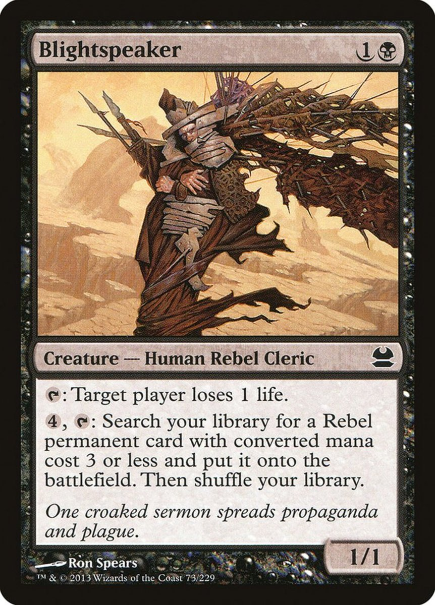 Top 10 Rebels in Magic: The Gathering