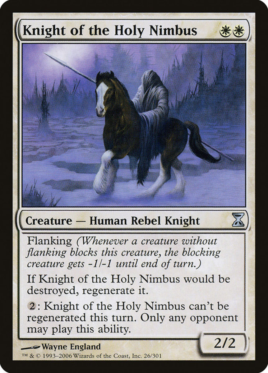 Knight of the Holy Nimbus mtg