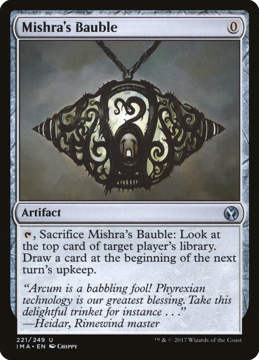 Mishra's Bauble mtg