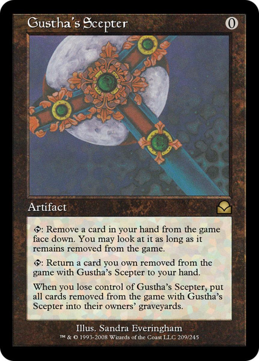 Gustha's Scepter mtg
