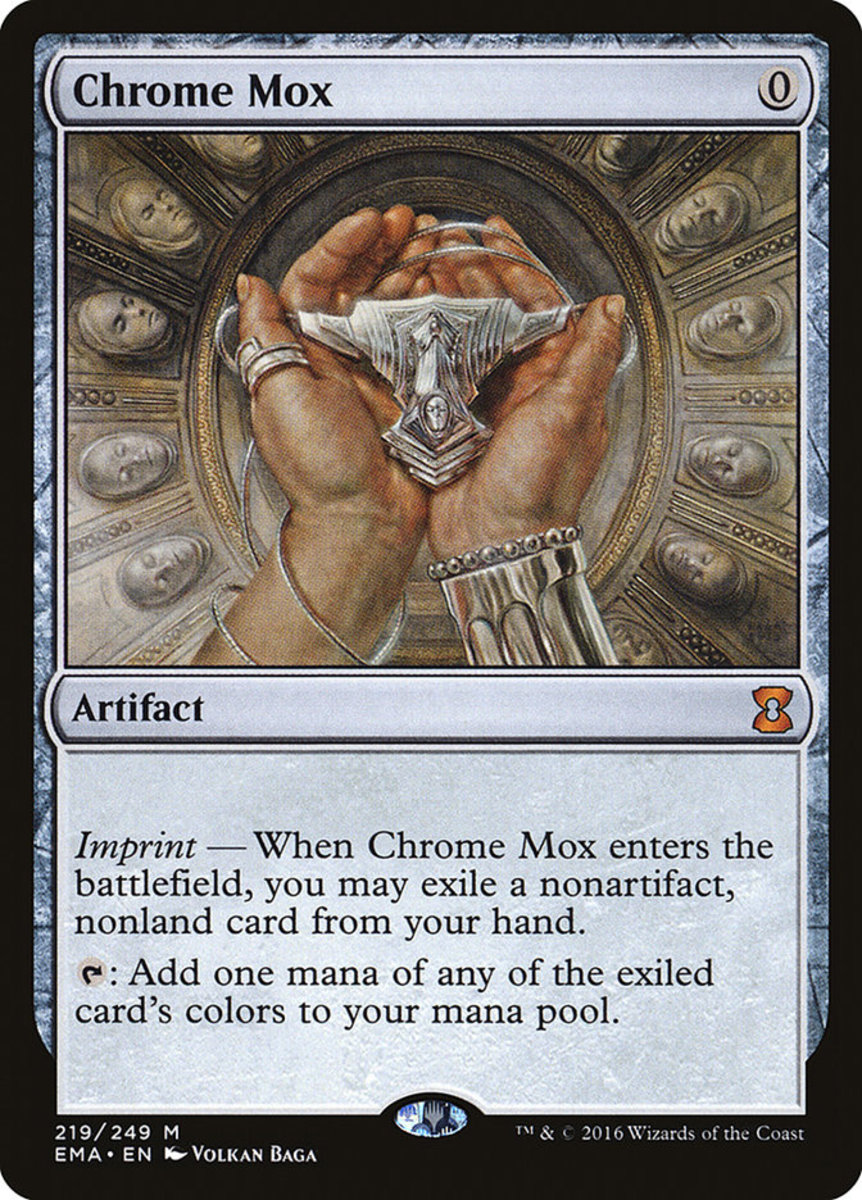 Chrome Mox mtg
