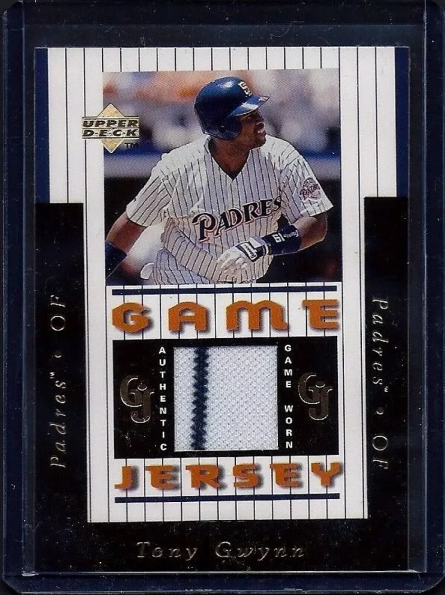 1997 Upper Deck Game Jersey Tony Gwynn
