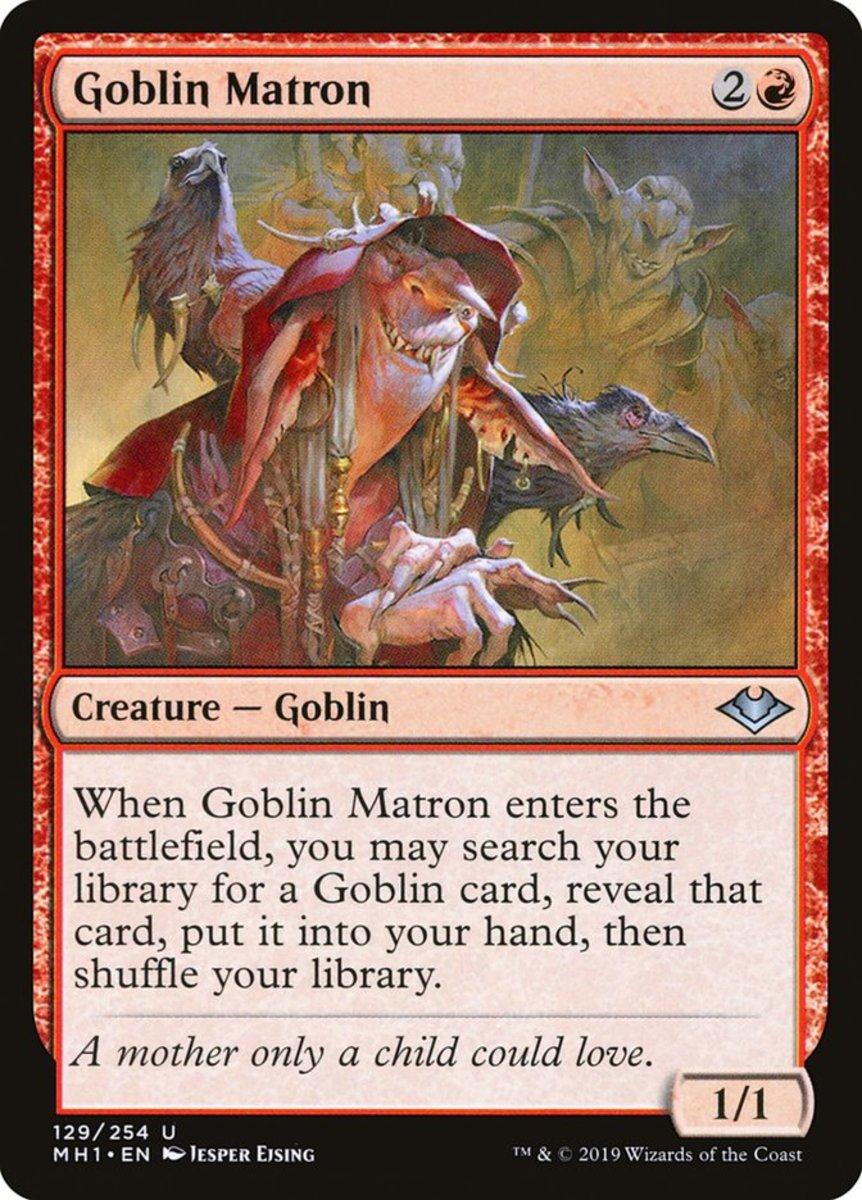 Goblin Matron mtg