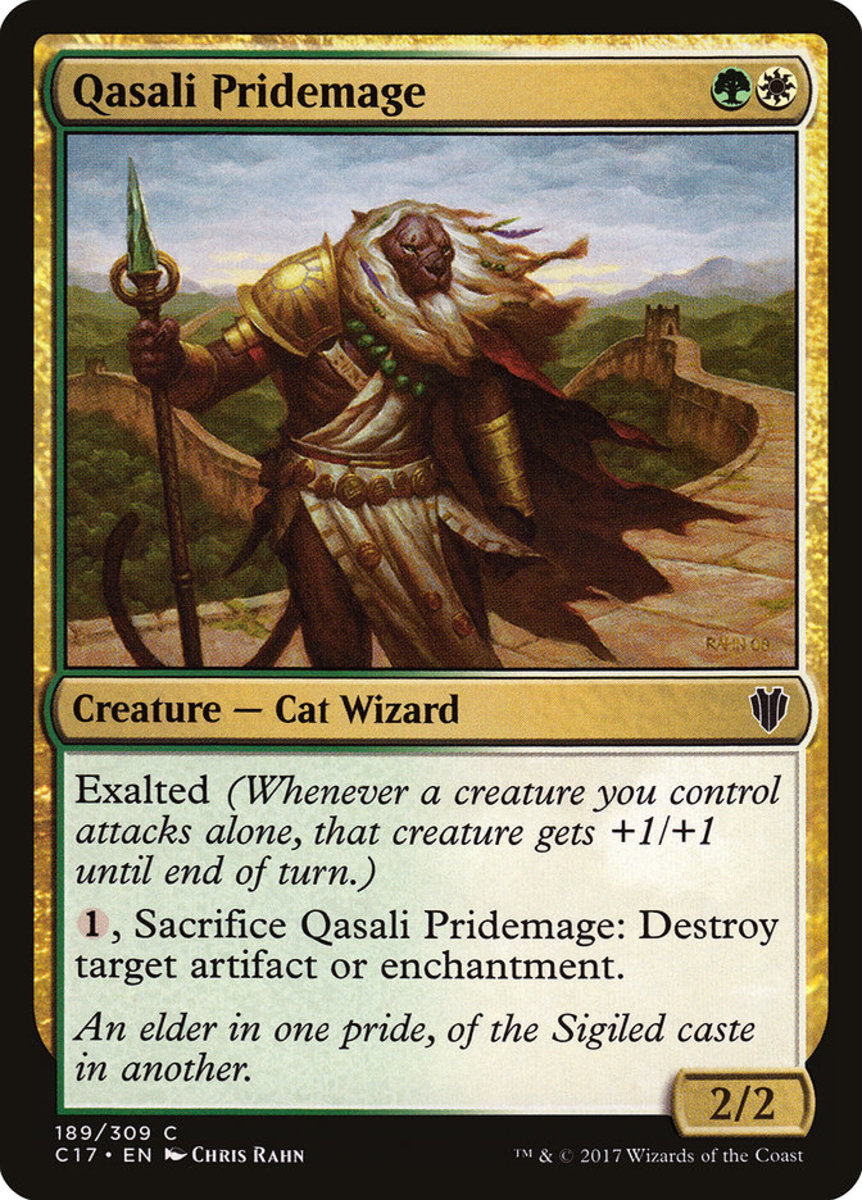 Qasali Pridemage mtg