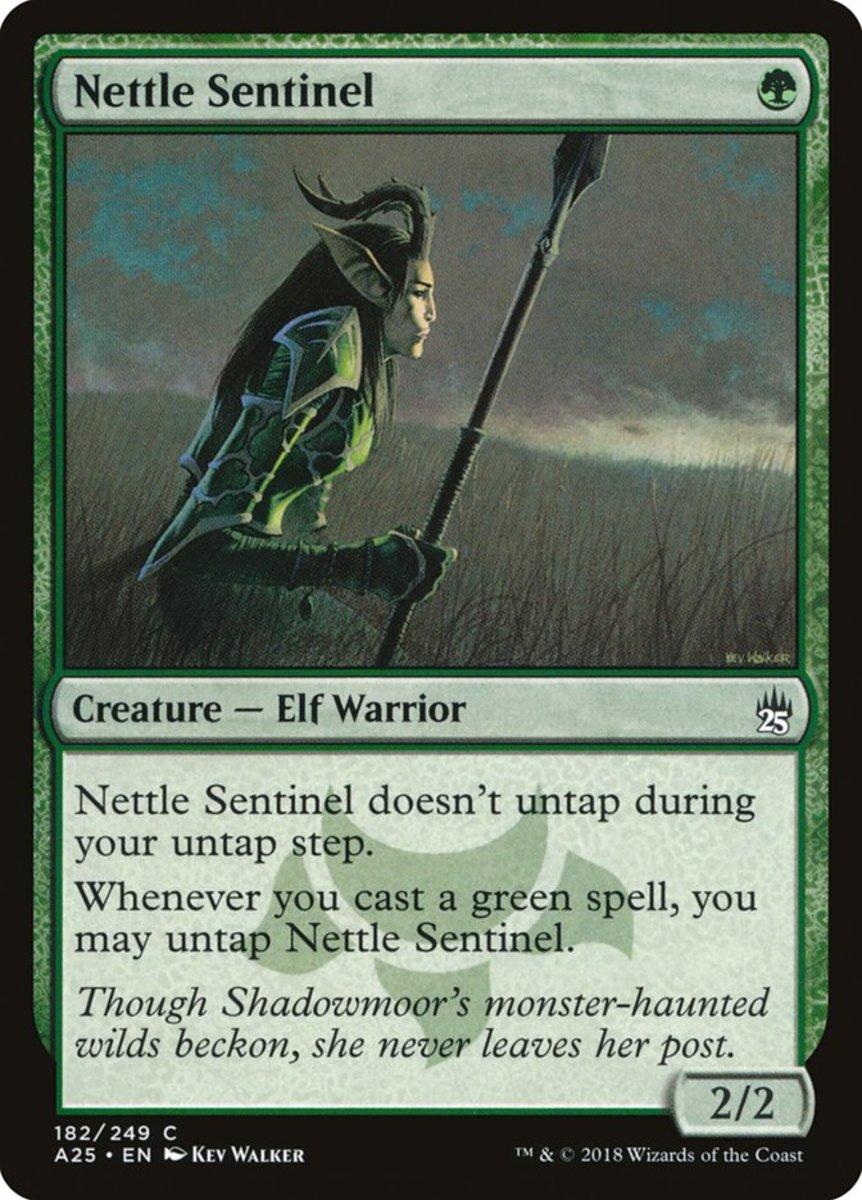 Nettle Sentinel mtg