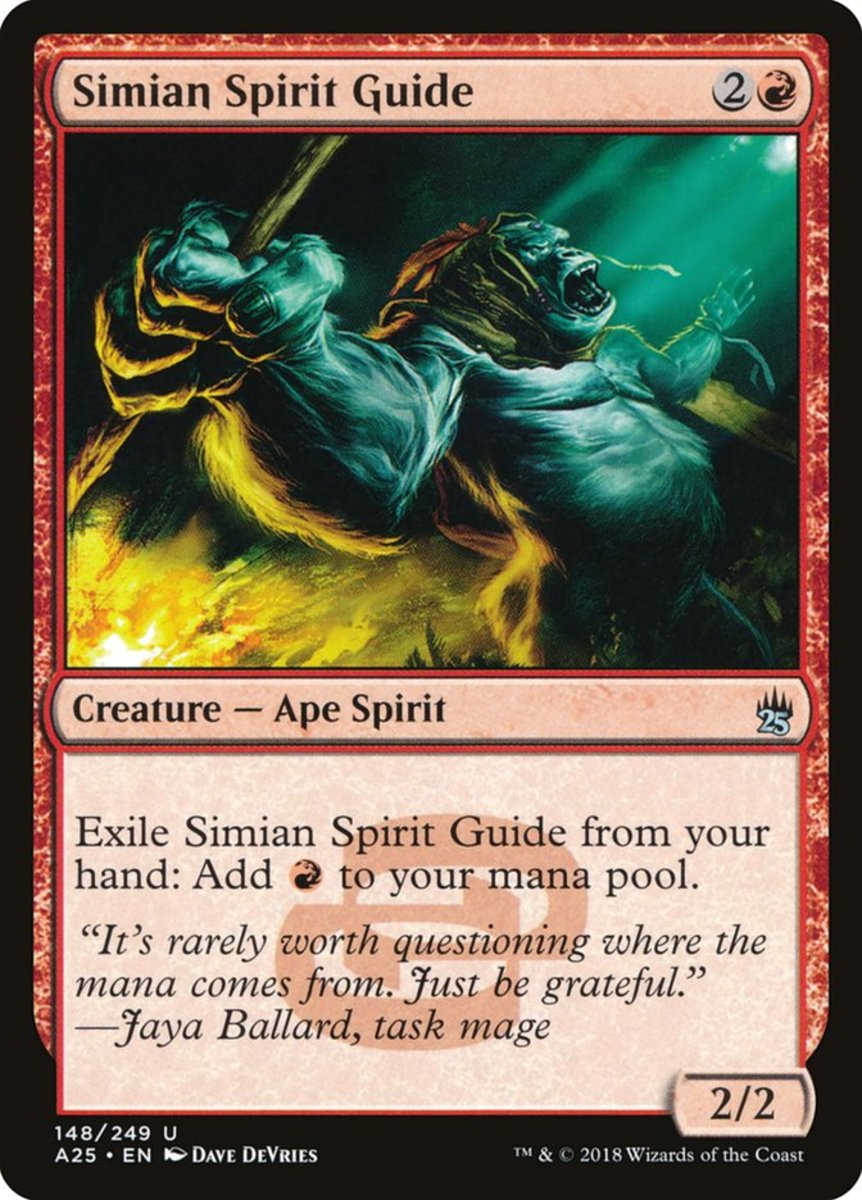 Simian Spirit Guide mtg