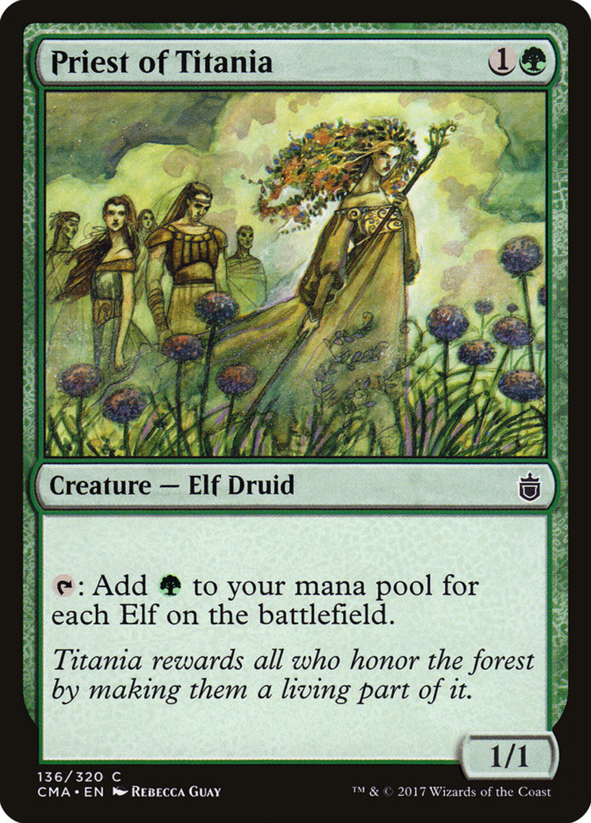 Priest of Titania mtg