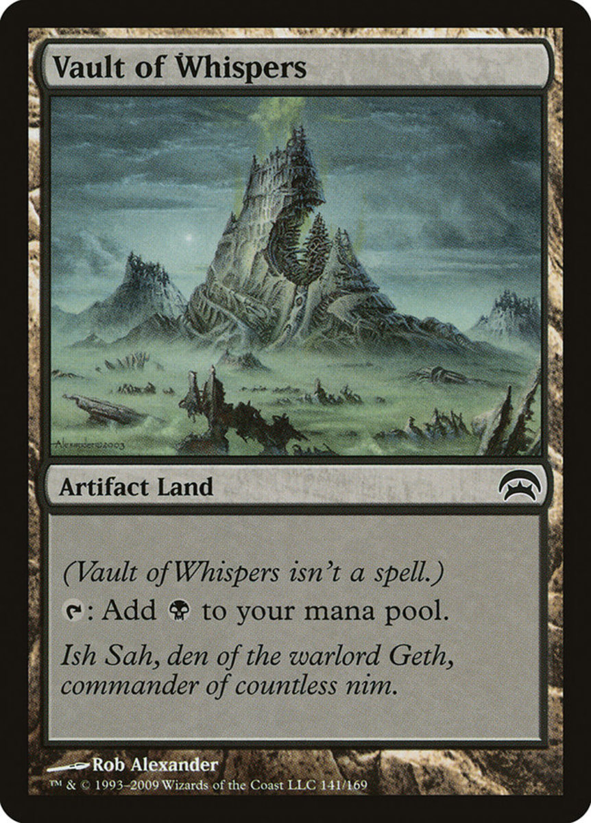 Vault of Whispers mtg