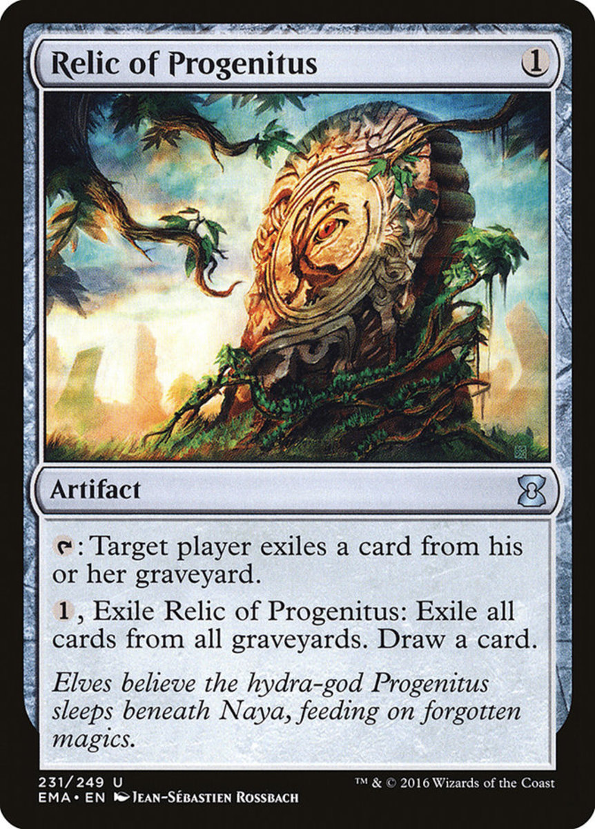 Relic of Progenitus mtg