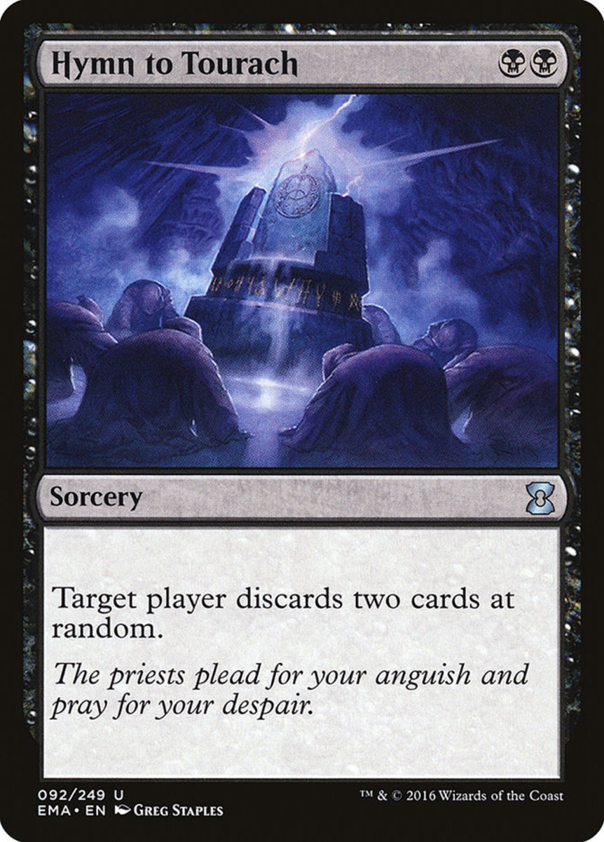 Hymn to Tourach mtg