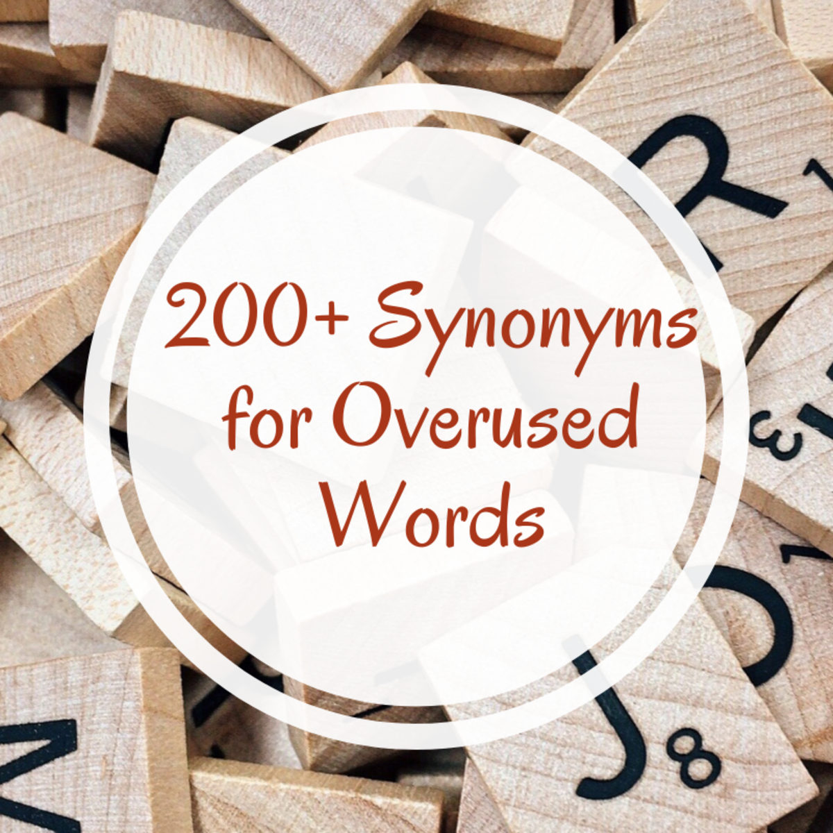 Sick of using the same boring words (run, said, big, etc.) when writing? Here are a few synonyms for those tired words.