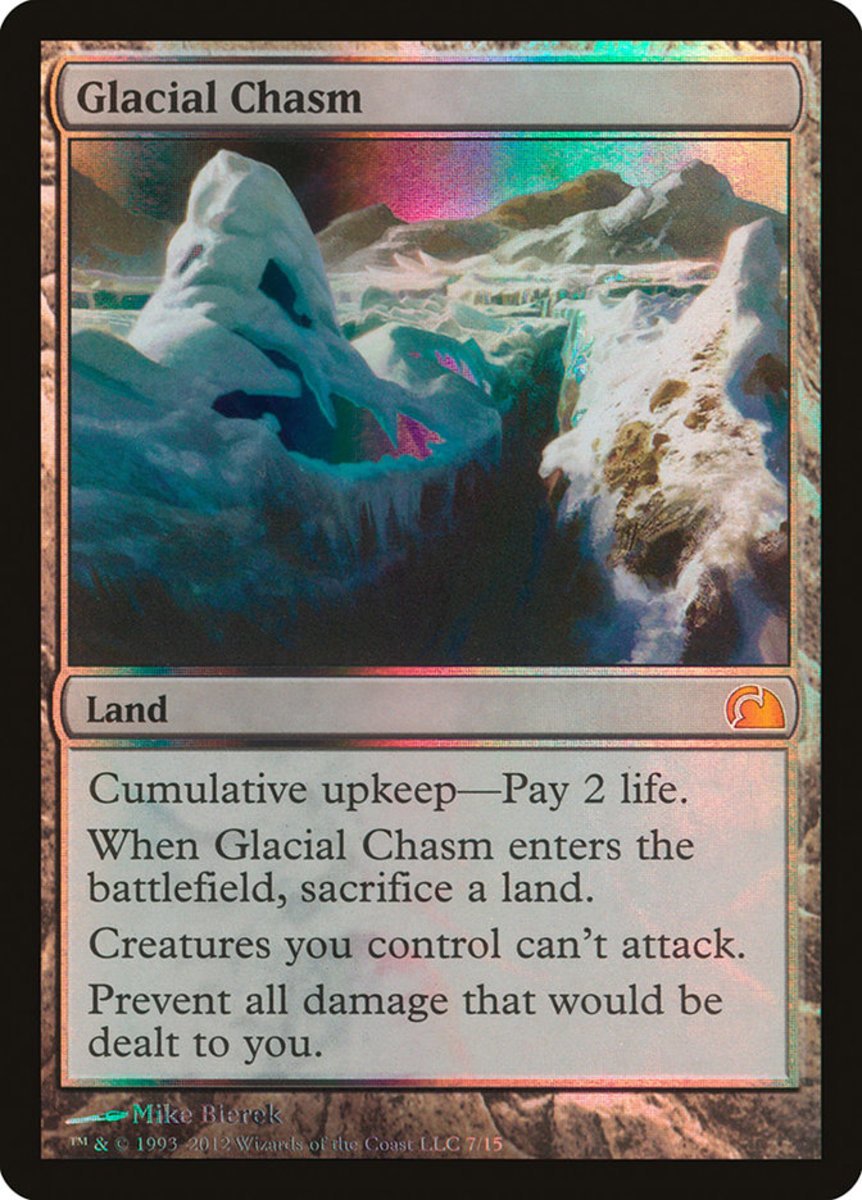 Glacial Chasm mtg