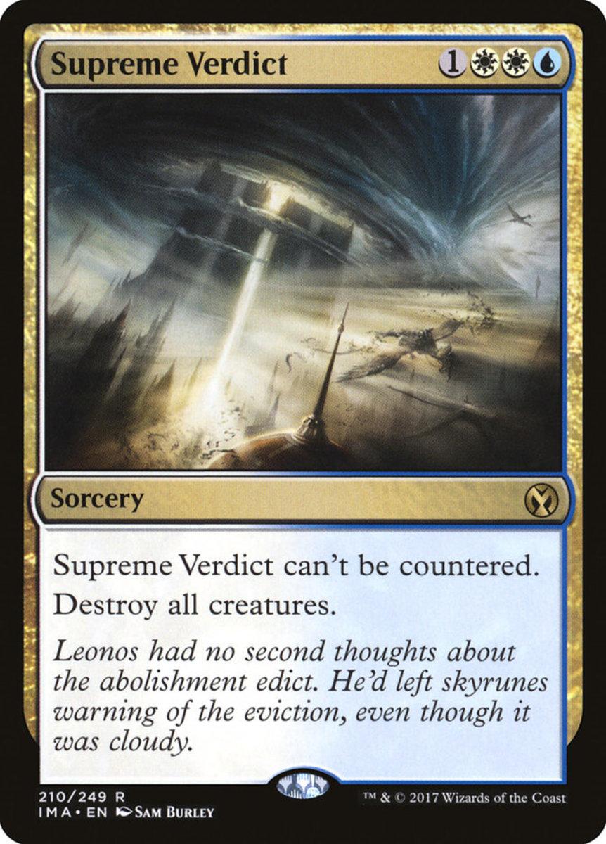 Supreme Verdict mtg