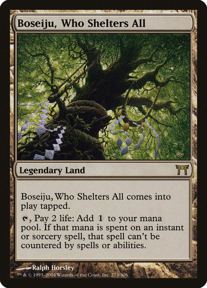 Boseiju, Who Shelters All mtg