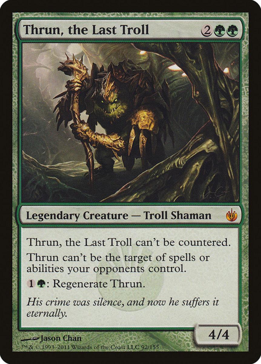 Thrun, the Last Troll mtg