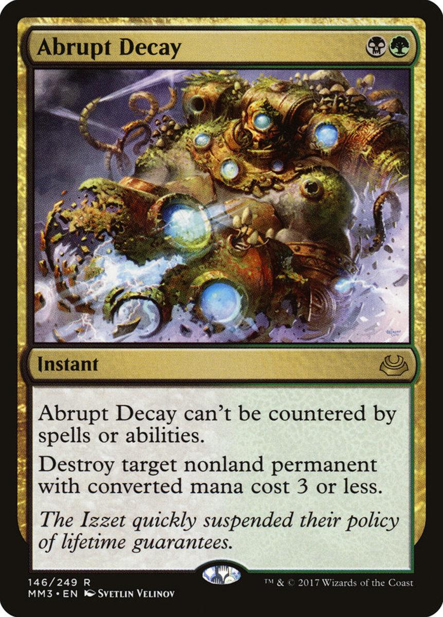 Abrupt Decay mtg