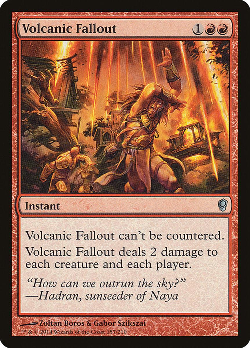 Volcanic Fallout mtg