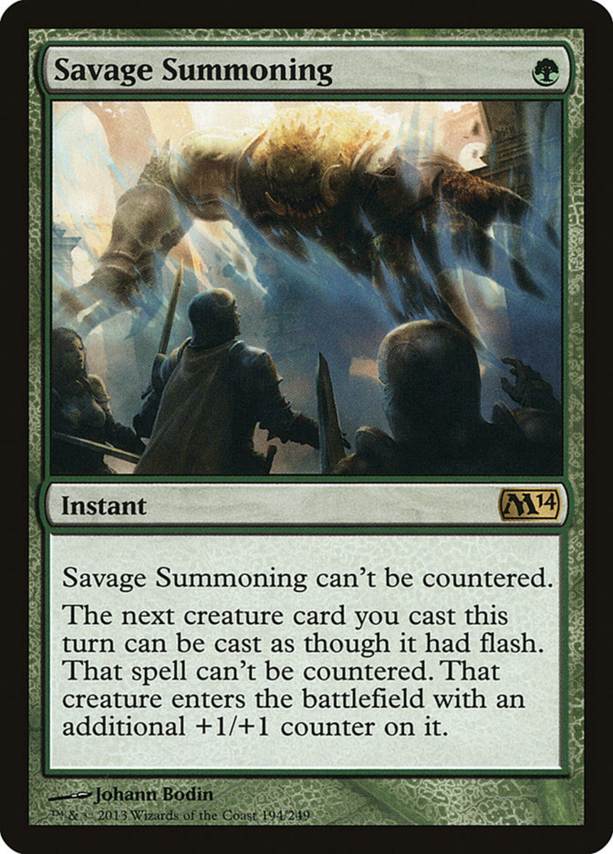 Top 50 Magic Cards That Can't Be Countered