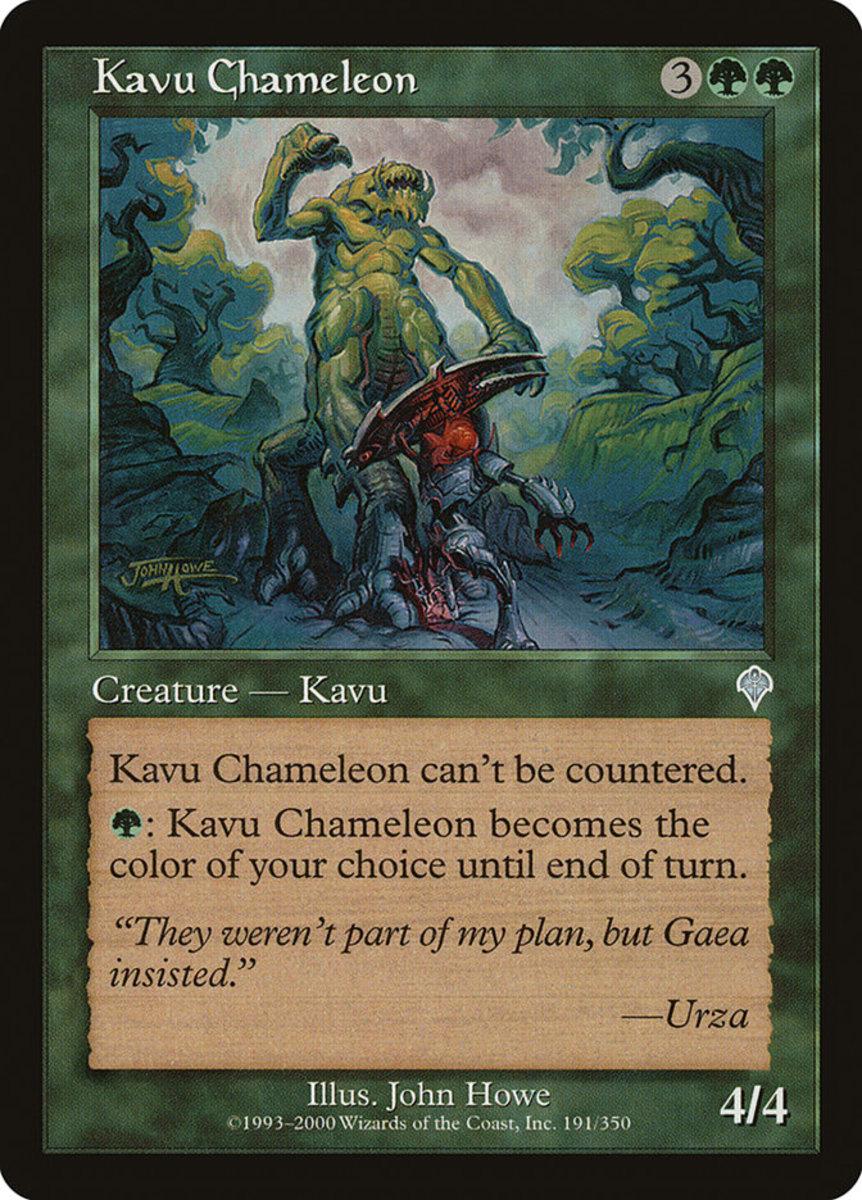 Kavu Chameleon mtg