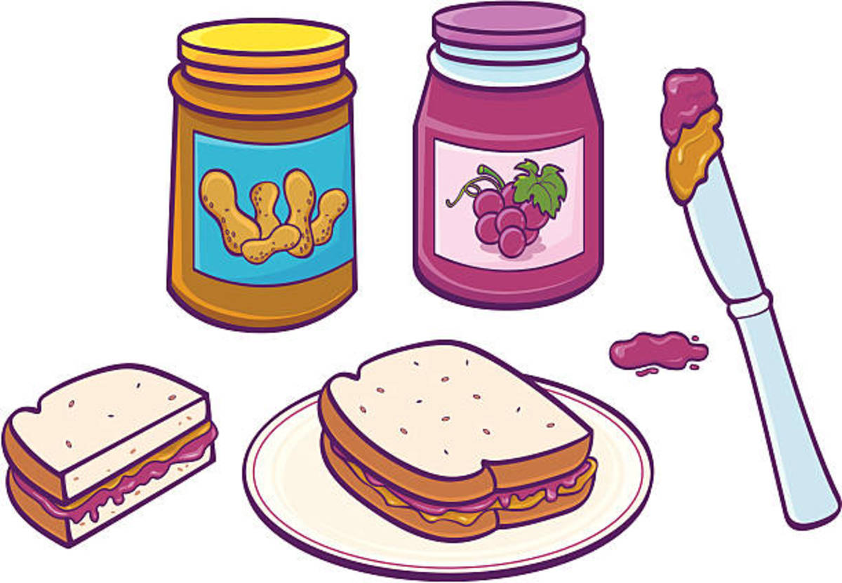 In 1993, the largest peanut butter and jelly sandwich to date was made in Pennsylvania. It was created from 150 pounds of peanut butter and 50 pounds of jelly.