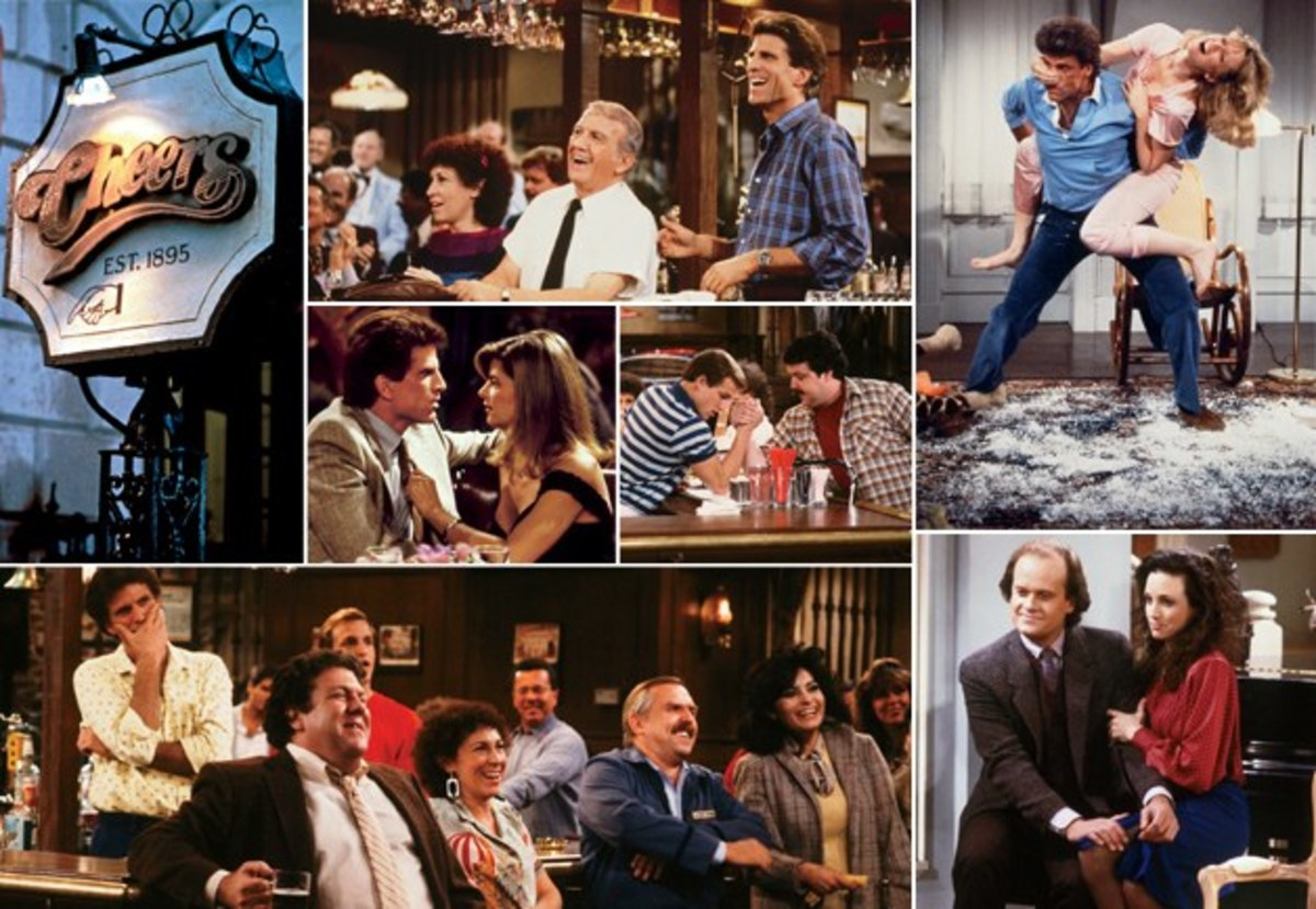 In 1993, the last episode of the sitcom Cheers aired on television.