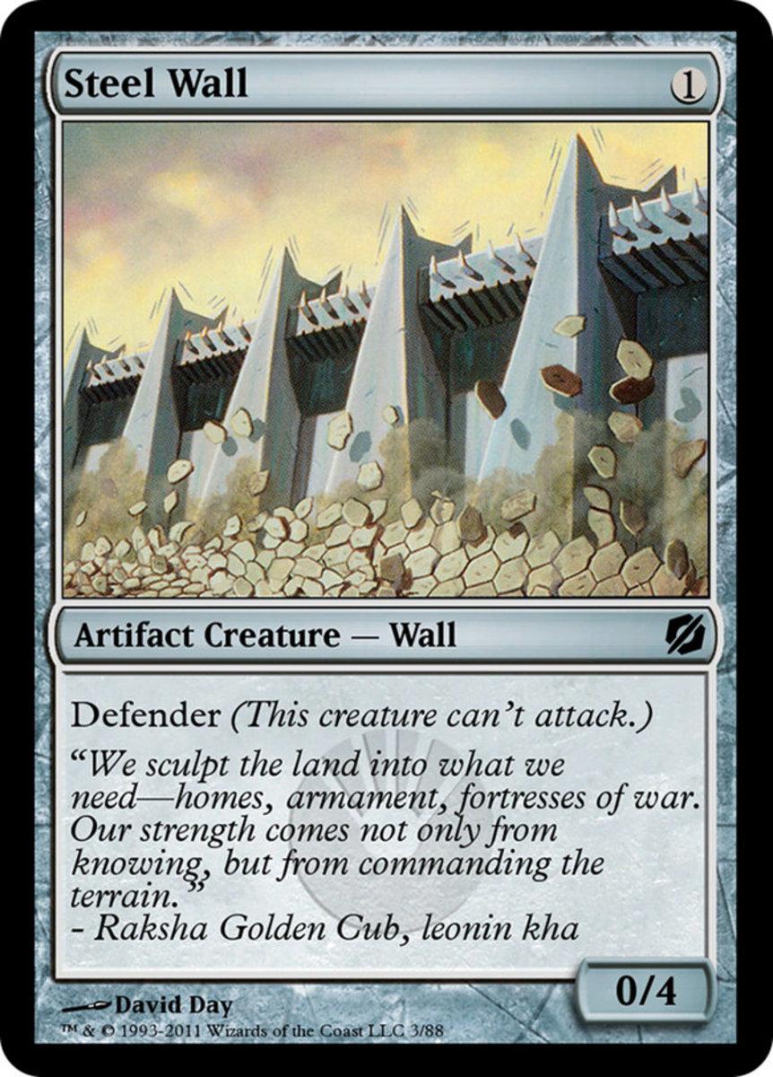 Steel Wall mtg