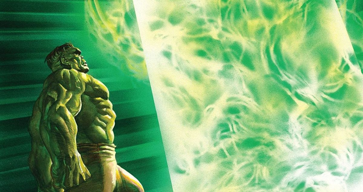 sample of the cover of Immortal Hulk Vol. 2: The Green Door