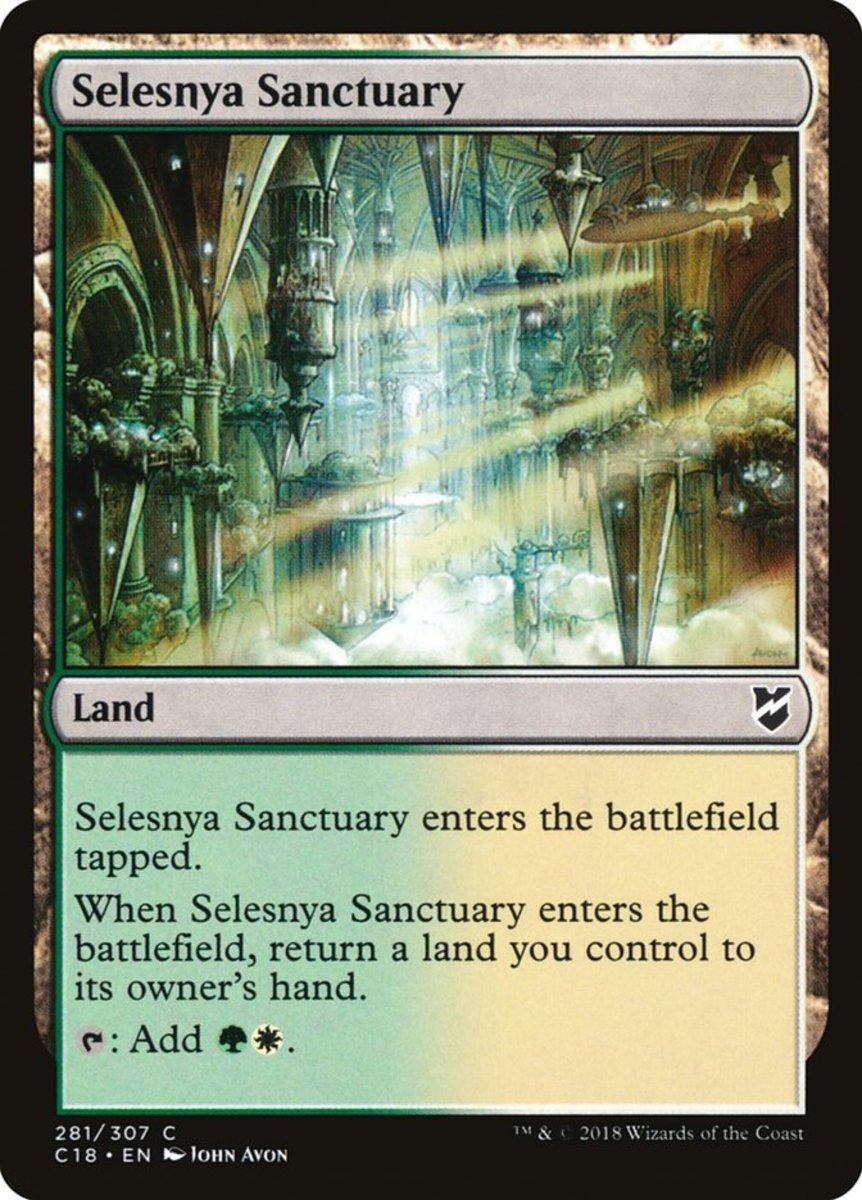 Selesnya Sanctuary mtg