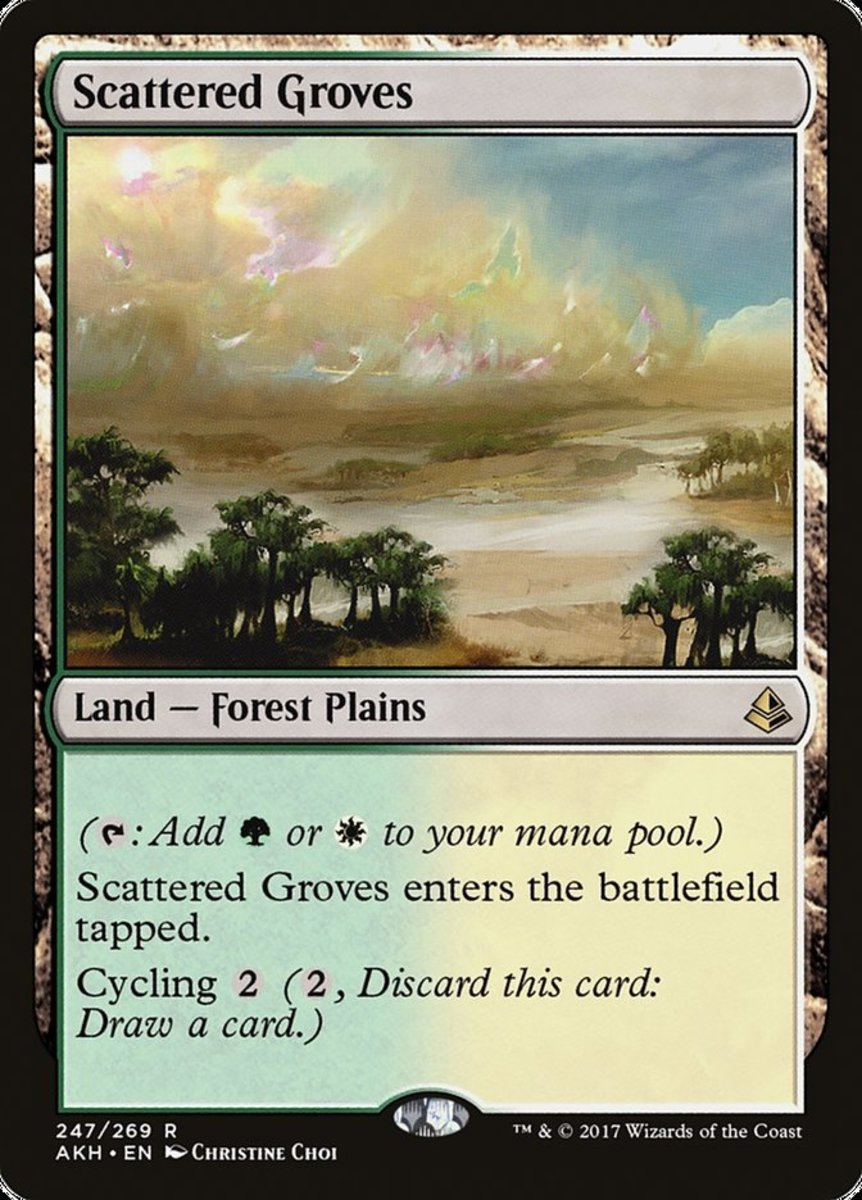 Scattered Groves mtg